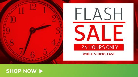 Flash Sale - 24 Hours Only