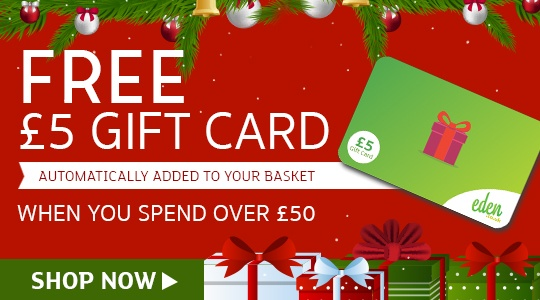 Today Only - Free £5 Gift Card when you spend £50