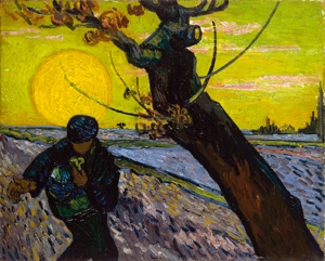 The Sower: Vincent van Gogh