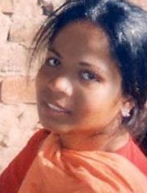 Asia Bibi, held in Pakistan for contravening Blasphemy laws.