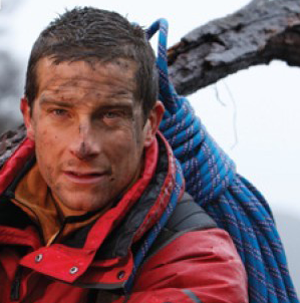 TV adventurer Bear Grylls