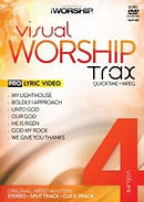 Visual Worship Trax Vol 4 DVD and DVD Rom