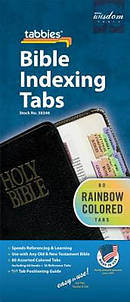 Bible Index Tab Rainbow Regular