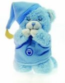 Blue Praying Bear