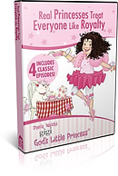 Gigi, God's Little Princess: Real Princesses Treat Everyone Like Royalty DVD
