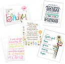 A6 Blank Greetings Cards - Pack of 10