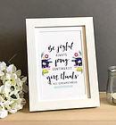 Be Joyful Always 7x5 Framed Print
