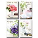Flowers Birthday Box of 12