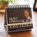 Quiet Strength - Perpetual Calendar by Tony Dungy