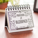 Prayers and Blessings Large Print Perpetual Calendar