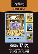 Birthday Bible Tails Box of 12