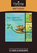 BOXED CARD BD HAPPY CRITTERS