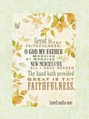BOXED NOTES FAITHFULNESS PRAIS