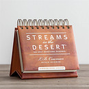Streams in the Desert Daybrightener - Perpetual Calendar