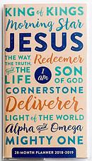 Names of Jesus - 2018 28-Month Planner