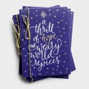 Thrill of Hope Christmas Cards Box of 18