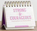 Strong and Courageous Perpetual Calendar