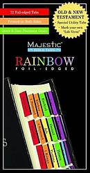 Traditional Rainbow Majestic Bible Tabs