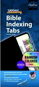 Rainbow Bible Tabs