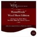 Software-Hymnwords-Word Sheet Edition-200+ Hymns