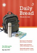 Daily Bread Apr - Jun 2013