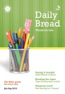 Daily Bread July-Sept  2013