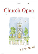 Church Open Come on In - A2 Poster