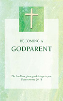 Green Godparent Card - Pack of 10