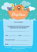 Baptism Certificates Pack of 10