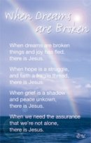 When Dreams Are Broken Prayer Card - Pack of 20