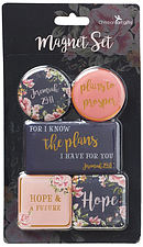 I Know The Plans Magnet Set