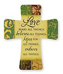 Love Porcelain Cross