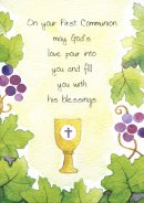 On Your First Communion - Single Card