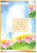 My command is this: Love each other Poster