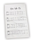 Abide With Me tea towel
