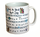 Hark the Herald Angels Hymn Mug