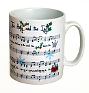 Holly and the Ivy Hymn Mug