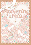 With Love on Mothering Sunday Single Card