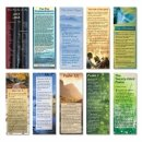 Bible Passage Bookmarks (mixed pack of 10)