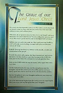Scripture Passage Poster: The Grace of our Lord Jesus Christ - Isaiah 55.1-9