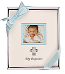 My Baptism Photo Album Blue