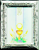 My First Communion Silver Photo Frame