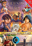 Friends & Heroes Ep 24-26 Dvd