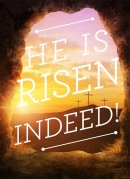 He Is Risen Indeed Minicards Pack of 4
