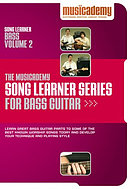 Song Learner Series for Bass Guitar: vol. 2