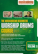 Beginners Worship Drums Course Volume 3 DVD