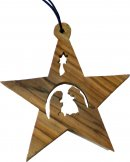 Small Star Nativity Christmas Decoration