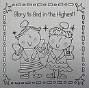 Nativity Colouring Christmas Cards pack of 20