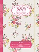 Floral 2019 Weekly Planner