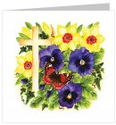 Floral Easter Cards Pack of 5